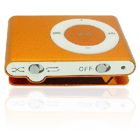 2nd Gen Clip MP3 Player 1GB(Six Colors)