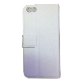Premium Wallet Case Dolce Pouch Flip STAND Cover Purple for iPhone 5