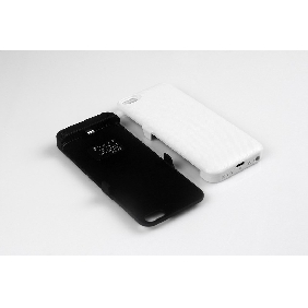 2400mAh iPhone 5 external rechargeable backup battery power