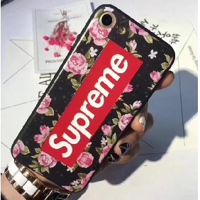 Fashion brand Supreme flower case for iPhon 6 / 7 / 7 plus