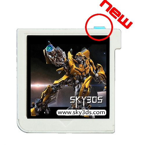 Sky3DS working for any 3DS games directly on 3DS/2DS/NEW3DS 11.8.0-41X
