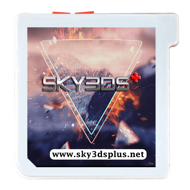 SKY3DS+ SKY3DS Plus(Orange Button) Flashcard